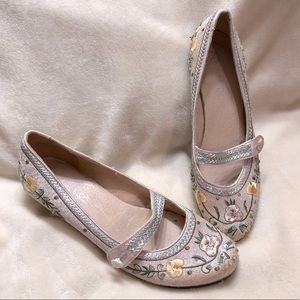 Vintage Two Lips Low Heel Mary Janes